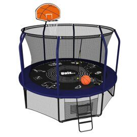 Батут UNIX line SUPREME GAME 10 ft + Basketball